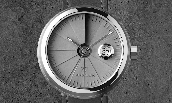 Signature Edition 4D Concrete Watch Automatic from 22 Design Studio