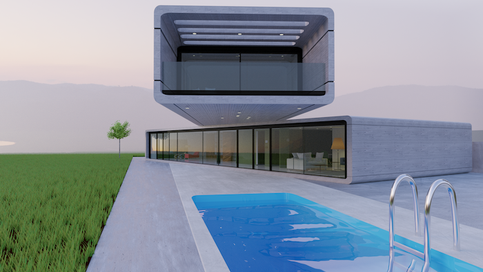 Clavel Arquitectura Crossed House