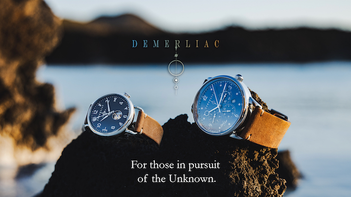 Demerliac Watches Pearl Timer and Visir