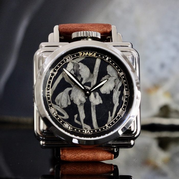 RPaige Speakeasy Antique Niello dial