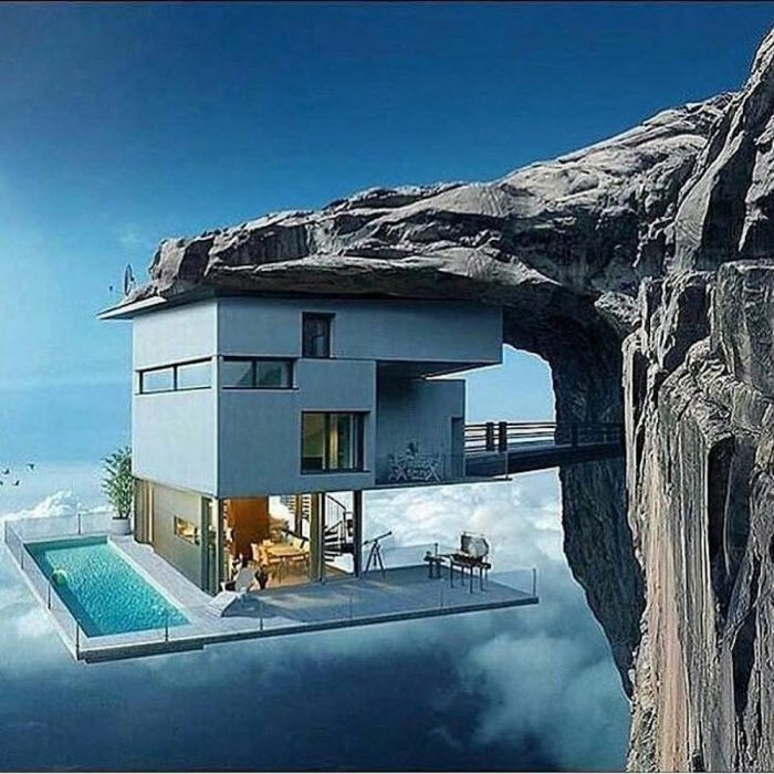 Crazy Clifftop House Concepts